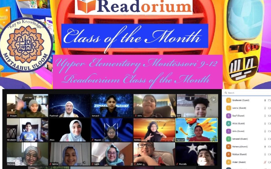 Readorium's Gold Medal Classes of the Month